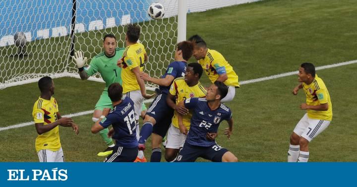 Colômbia sofre com expulsão no início e perde para o Japão ... d1094024f9724