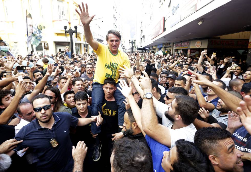 Jair Bolsonaro esfaqueado