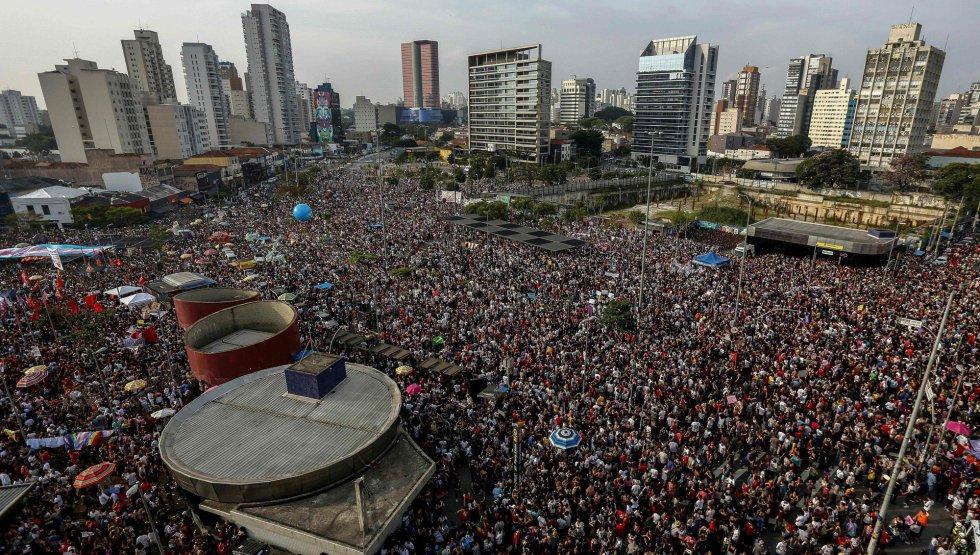 Fotos: #elenão: As imagens dos atos contra Bolsonaro pelo