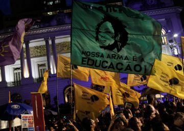 Las calles de Brasil claman justicia por Marielle Franco en el aniversario de su asesinato