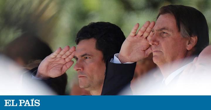 Bolsonaro demonstra apoio discreto a Moro sem manifestação pública