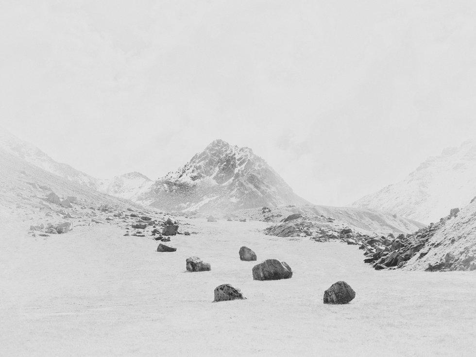 Nenhum dos irmãos tinha uma grande experiência em altitude quando fizeram a viagem. Na foto, Rock Valley.