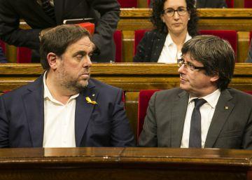 Puigdemont se queda solo con su idea de lista única para las europeas