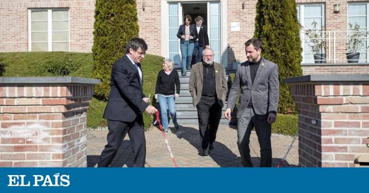 fbce4f07344 Puigdemont, vecino de Waterloo   Cataluña   EL PAÍS