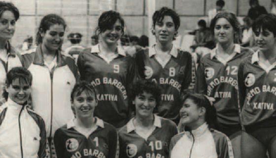 Jugadoras de voley peruano 1982