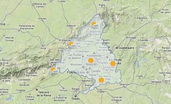 Alerta Naranja En La Sierra De Madrid Por Temperaturas De Hasta