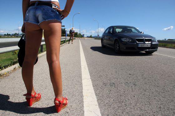 las chicas prostitutas recogidas públicas