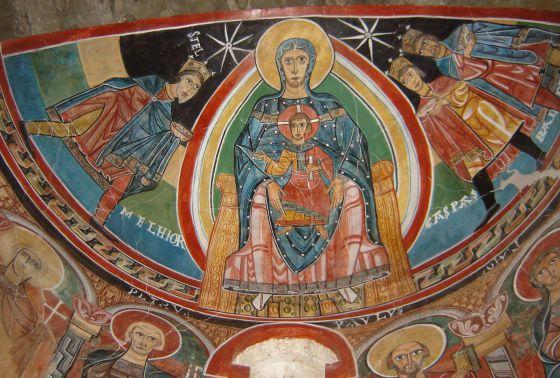 Resultado de imagen de Pinturas de Santa Maria de Taüll