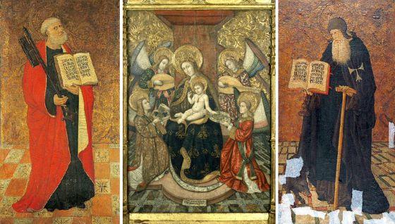 Una Virgen Entre 225 Ngeles Y Santos Catalu 241 A El Pa 205 S
