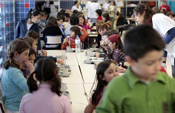 Solo uno de cada tres alumnos accede a un beca íntegra de comedor ...