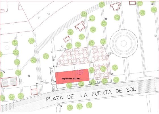 El Ayuntamiento Plantará árboles Y Pondrá Un Bar Terraza En