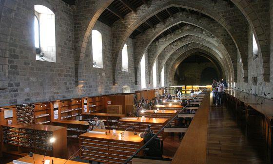"""Bibliotheque nacional de Catalunya"""""""
