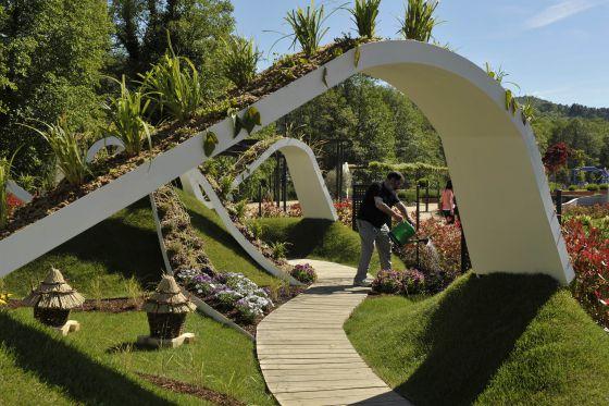 Allariz en el escaparate galicia el pa s for Ver fotos de jardines