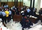 El motín de los Casuals en un juicio se salda con penas mínimas