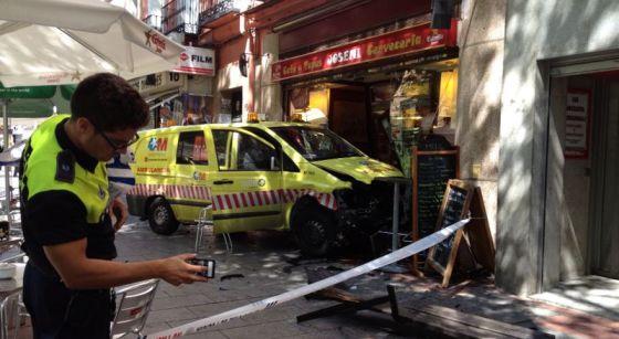 Fotos de ambulancias en accidentes 99