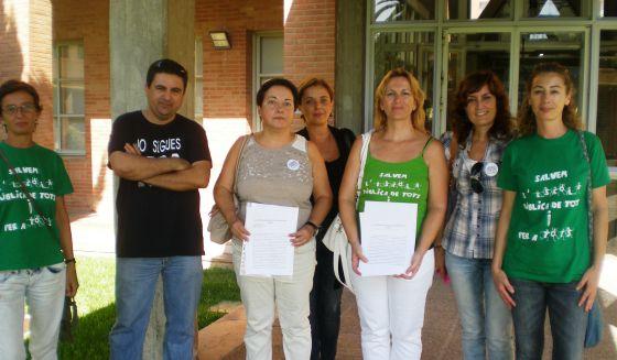 Las familias del sur de Valencia exigen becas de comedor y ...