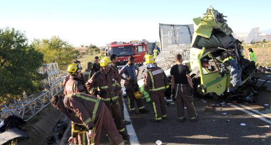 Dos muertos en un accidente en les borges blanques for El tiempo les borges blanques