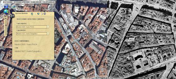 Mapa Puerta Del Sol.Metamorfosis Urbana A La Vista Madrid El Pais
