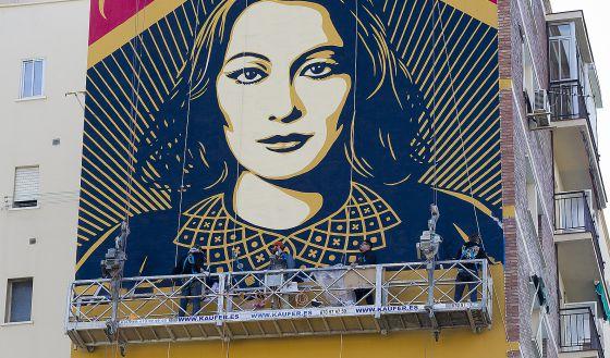 Un mural para la historia andaluc a el pa s for Caracteristicas de un mural