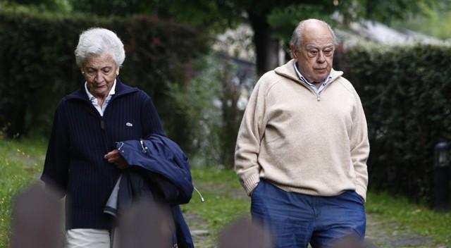 La esposa de Pujol y tres de sus hijos declararon 12 millones en 2013 - EL PAÍS