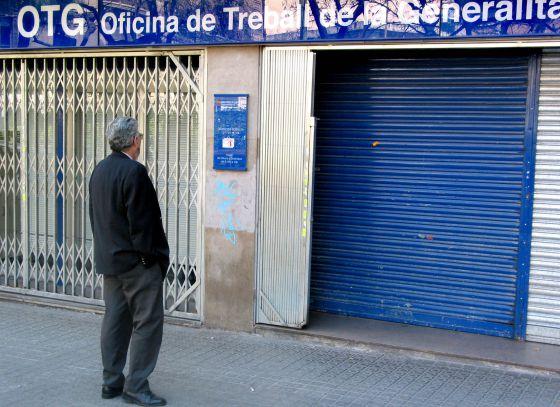 L atur a catalunya augmenta en persones al gener for Oficina de extranjeria girona