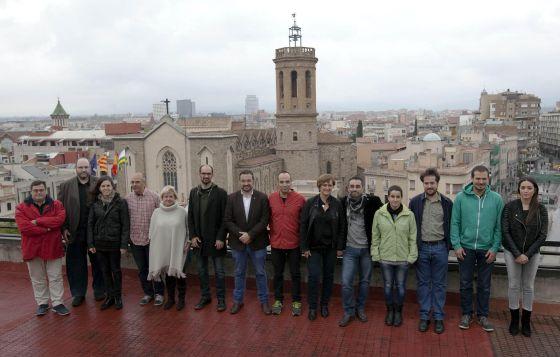 Cuatro Fuerzas De Izquierda Firman Un Pacto De Gobierno En Sabadell