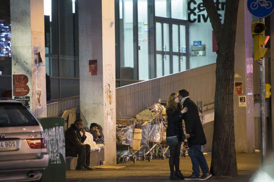 Las personas sin hogar en Barcelona ascienden a 2.800