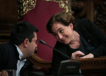 Los independentistas y Colau abren una nueva etapa de colaboración
