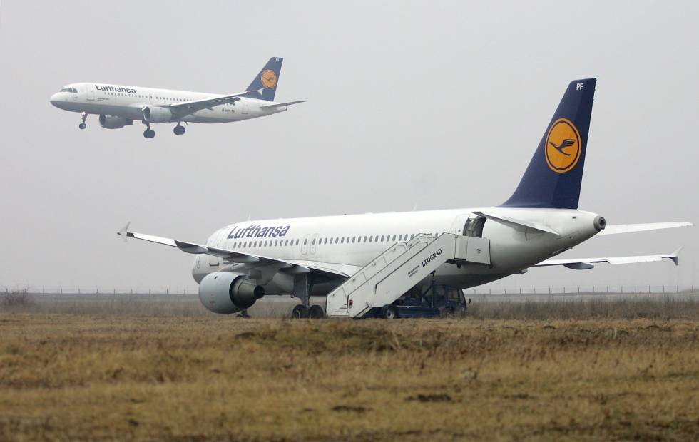 A Lufthansa Flight Had A Near Miss With Drones Reuters
