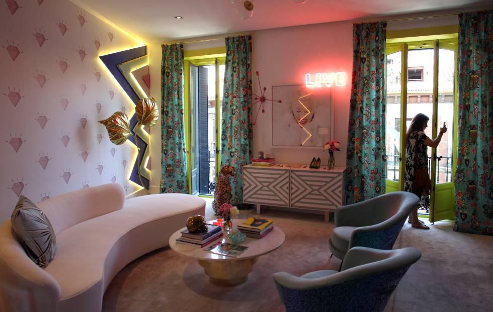 jardin interior expectacular en este dise ointerior de vivienda El País