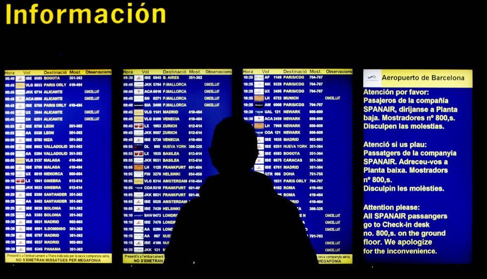 Los retrasos de vueling y las huelgas amenazan el verano for Billetes de avion baratos barcelona paris