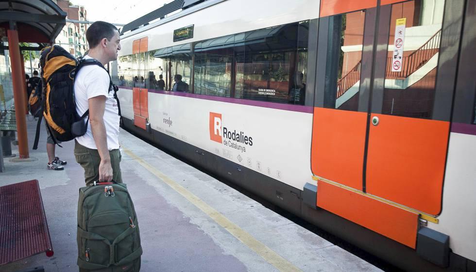 Esquema de los servicios de la línea R1 de Rodalies de Catalunya