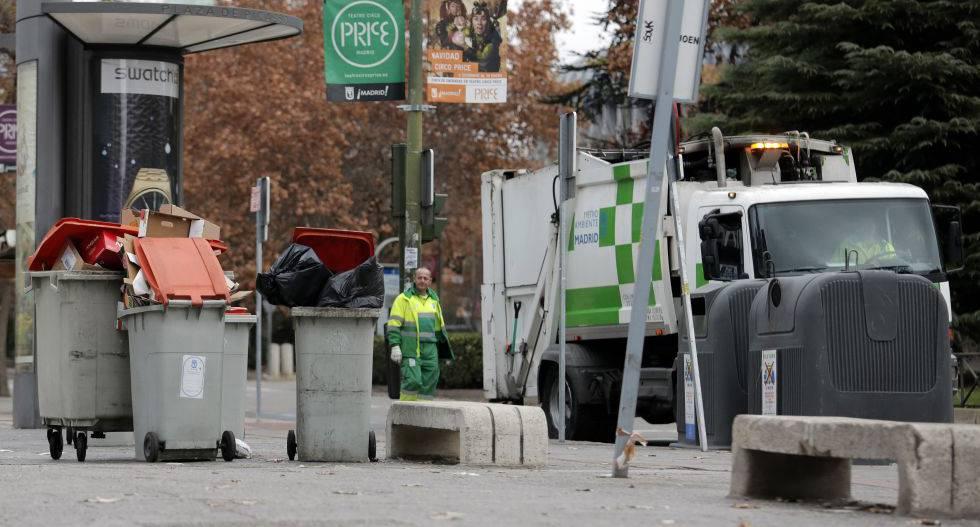 Puntos de recogida de residuos en barcelona