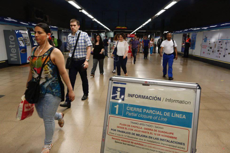 Metro Reabre El Miércoles Siete Estaciones De La Línea 1 Madrid