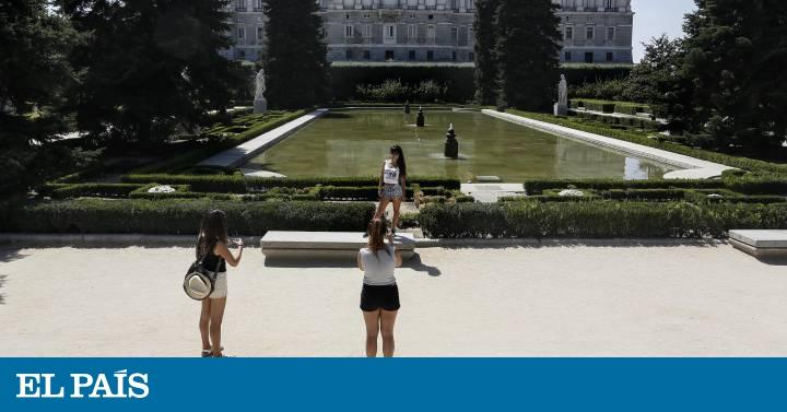 Un Bosque En El Palacio Madrid El Pais