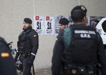 La Guardia Civil cifra en medio millón el coste de la publicidad del referéndum