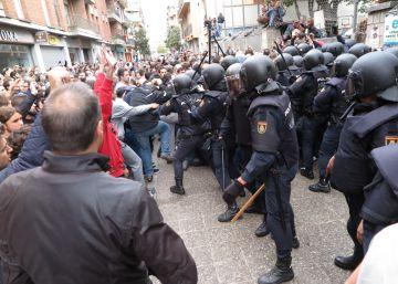 Un juez investiga la intervención de la Policía Nacional en la jornada del referéndum