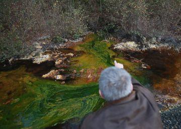 Augas de Galicia multa con 30.000 euros a la mina de Touro por contaminar afluentes del Ulla