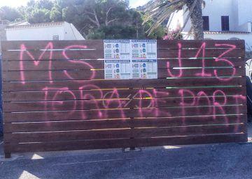 Pintadas contra el juez que ordenó detener a altos cargos del Govern