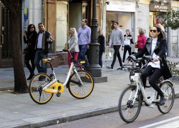Colau limitará a 2.500 las bicis privadas compartidas
