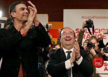 Sánchez equipara al secesionismo con PP y Ciudadanos