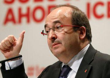 Iceta es partidario de indultar a los líderes secesionistas para cerrar heridas