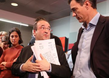 Sánchez: ?Es la hora de que Rajoy proponga una solución?