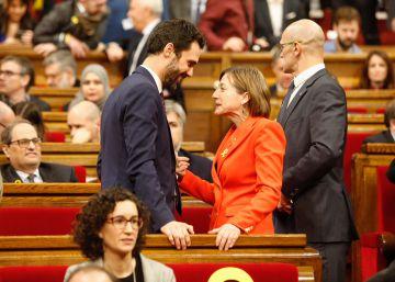 Puigdemont empuja a ERC a otro choque con el Estado
