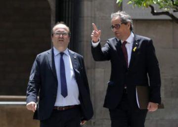 Iceta traslada a Torra que el diálogo con Sánchez solo será ?provechoso? si se inscribe en la legalidad