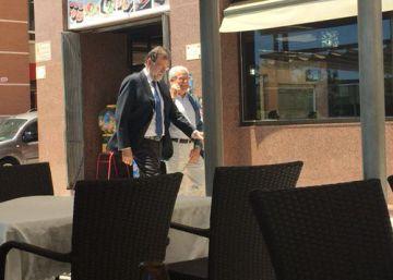 Rajoy se incorpora mañana a su puesto como registrador en Santa Pola