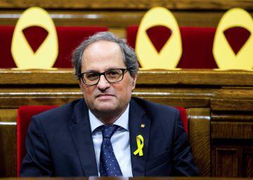 Torra pide al Rey reunirse este viernes para hablar de Cataluña