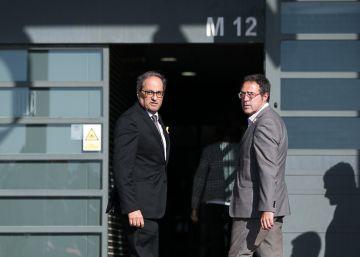 Quim Torra visita a los políticos presos en Lledoners