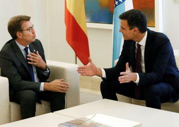 Feijóo anuncia que Sánchez mantendrá los plazos de Rajoy para la llegada del AVE a Galicia