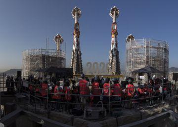 Así será el interior de la torre de Jesús de la Sagrada Familia